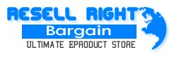 Resell Rights - Resell Right Bargain